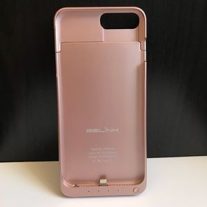 Rose Gold Power Bank IPHONE 7 PLUS case